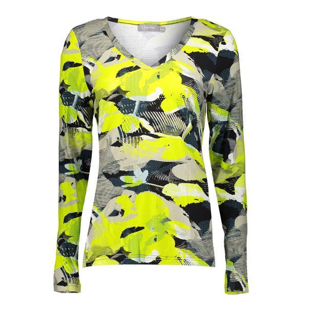 Geisha t-shirts 03198-20 in het Beige