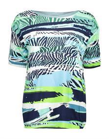 Geisha t-shirts 03271-20 in het Aqua