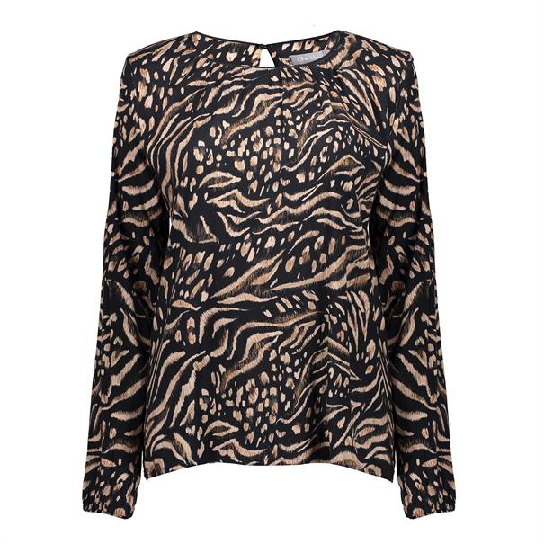 Geisha t-shirts 03913-20 in het Zwart