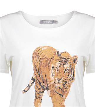 Geisha t-shirts 12602-25 in het Ecru