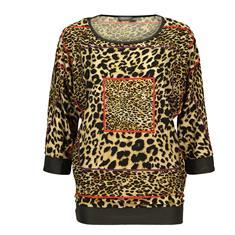 Geisha t-shirts 93693-20 in het Oker