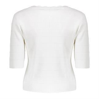 Geisha trui 14303-10 in het Wit