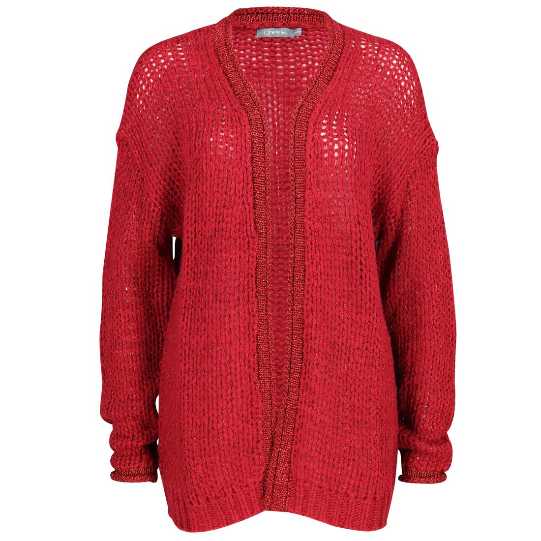 Geisha vest 84803-10 in het Rood
