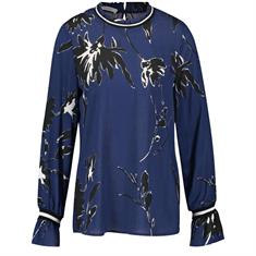 Gerry Edition blouse 760101-67091 in het Blauw