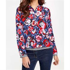 Gerry Weber blouse 160033-38055 in het Rood