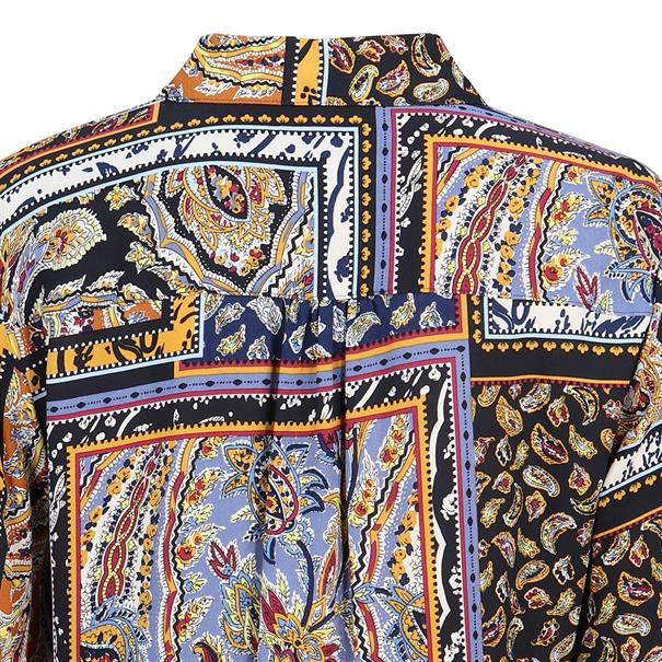 Gerry Weber blouse 260010-31417 in het Donker Blauw