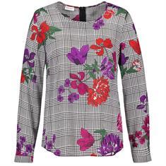 Gerry Weber blouse 860056-38320 in het Wit/Beige