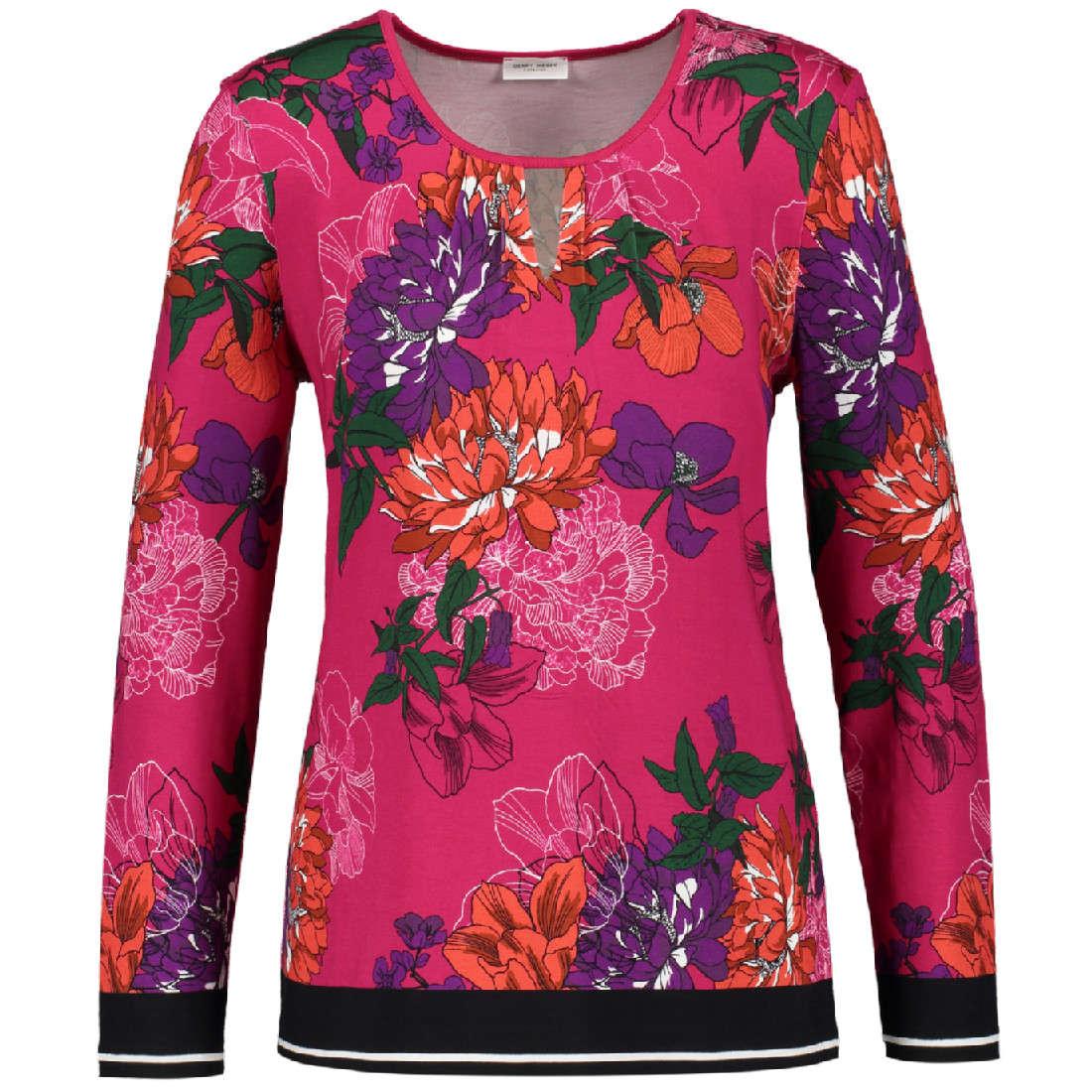 Gerry Weber t-shirt 870306-35121 in het Fuxia