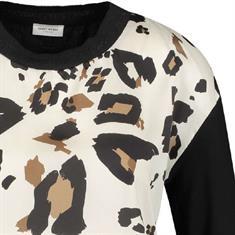 Gerry Weber t-shirts 270259-35059 in het Zwart / Bruin