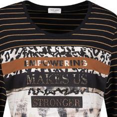 Gerry Weber t-shirts 270264-35064 in het Camel