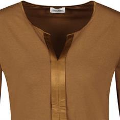 Gerry Weber t-shirts 270278-35078 in het Camel