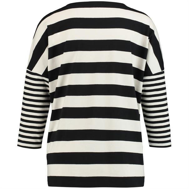 Gerry Weber t-shirts 870222-35032 in het Zwart / Wit