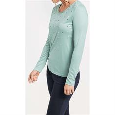 Gerry Weber t-shirts 870283-35094 in het Aqua Donker