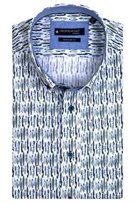 Giordano casual overhemd 117021 in het Groen