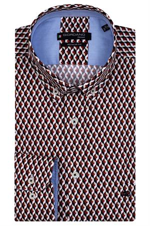 Giordano casual overhemd 127026 in het Zwart