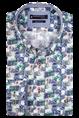 Giordano casual overhemd Regular Fit 106029 in het Groen