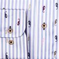 Giordano casual overhemd Regular Fit 107101 in het Licht Blauw