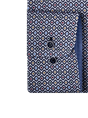 Giordano casual overhemd Regular Fit 207011 in het Bordeaux