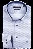 Giordano casual overhemd Regular Fit 207039 in het Wit/Blauw