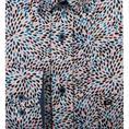 Giordano casual overhemd Regular Fit 91-7016 in het Aqua