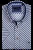 Giordano overhemd Regular Fit 106020 in het Licht Geel