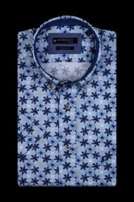 Giordano overhemd Regular Fit 106023 in het Licht Blauw