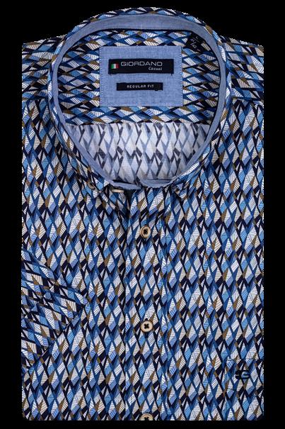 Giordano overhemd Regular Fit 106025 in het Blauw