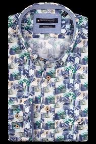 Giordano overhemd Regular Fit 106029 in het Groen