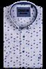 Giordano overhemd Regular Fit 106031 in het Licht Geel