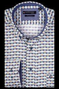 Giordano overhemd Regular Fit 107013 in het Groen