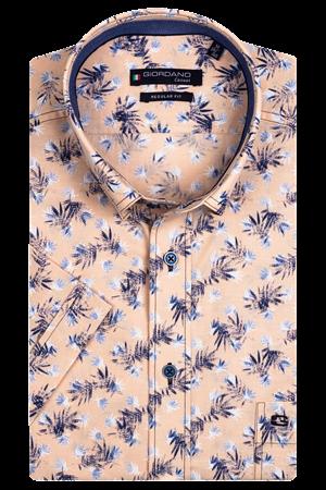 Giordano overhemd Regular Fit 116036 in het Oranje