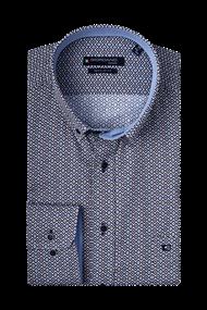 Giordano overhemd Regular Fit 207011 in het Bordeaux