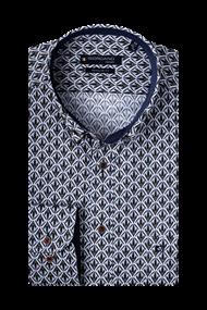 Giordano overhemd Regular Fit 207015 in het Groen