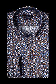 Giordano overhemd Regular Fit 207018 in het Camel