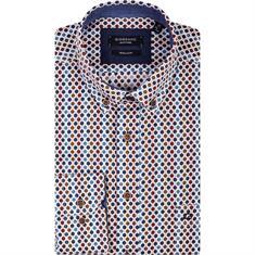 Giordano overhemd Regular Fit 827028 in het Rood