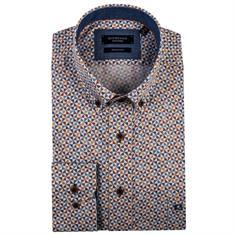 Giordano overhemd Regular Fit 91-7013 in het Licht Blauw