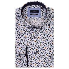 Giordano overhemd Regular Fit 927002 in het Groen