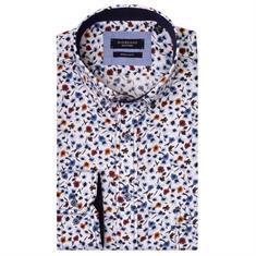 Giordano overhemd Regular Fit 927002 in het Rood