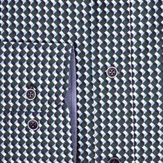 Giordano overhemd Regular Fit 927022 in het Groen