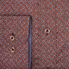 Giordano overhemd Regular Fit 927028 in het Camel