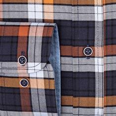Giordano overhemd Regular Fit 927303 in het Camel