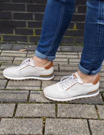 Giorgio sneakers 87517/01-fox in het Licht Grijs