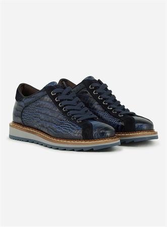 Giorgio veterschoen 64918-Anaconda in het Blauw