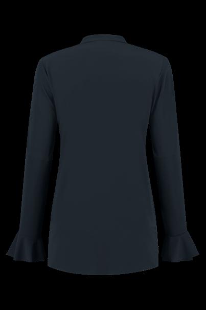 Helena Hart blouse 7258-blouse volan in het Zwart