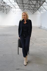 Helena Hart pantalons 5808 in het Donker Blauw