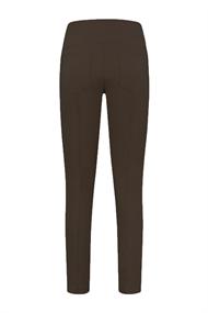 Helena Hart pantalons Slim Fit 6003-lina in het Donker Bruin