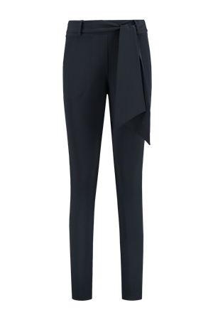 Helena Hart pantalons Slim Fit davy-7200 in het Marine