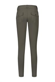 Helena Hart pantalons Slim Fit davy-7200 in het Olijf groen