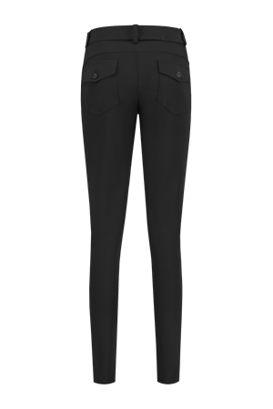 Helena Hart pantalons Slim Fit davy-7200 in het Zwart