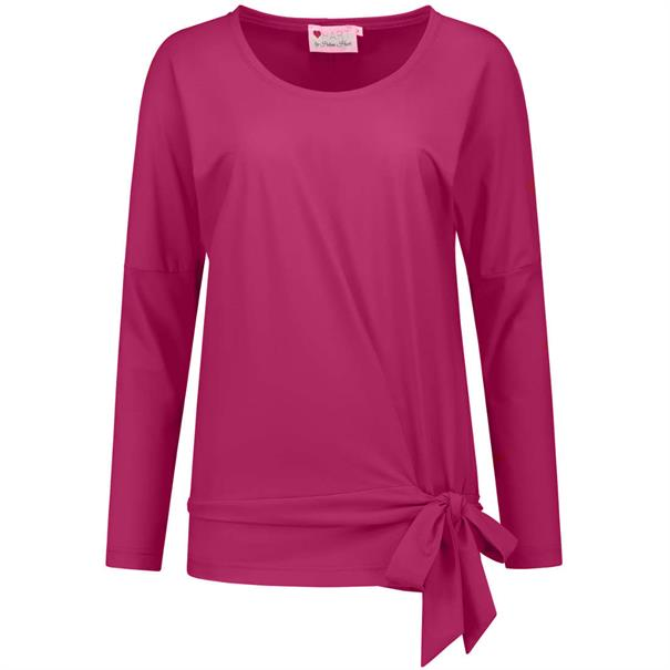 Helena Hart t-shirt 7073-top-sally in het Cassis